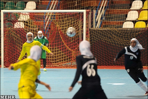 تیم فوتسال بانوان(جوانان)هیات فوتبال تهران قهرمان مسابقات کشور شد