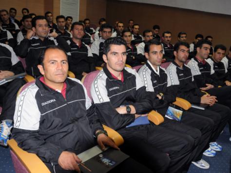 اسامی داوران شرکت کننده در کلاس توجیهی پیش فصل لیگ برتر فوتبال