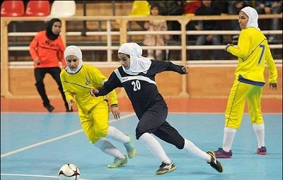 قهرمانی تیم فوتسال بانوان استان تهران در رده جوانان کشور