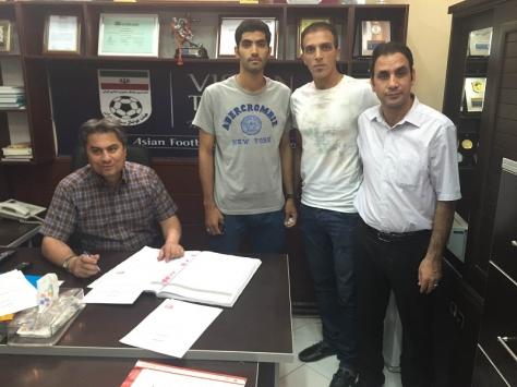 ثبت قرارداد بازیکنان پرسپولیس در هیات فوتبال