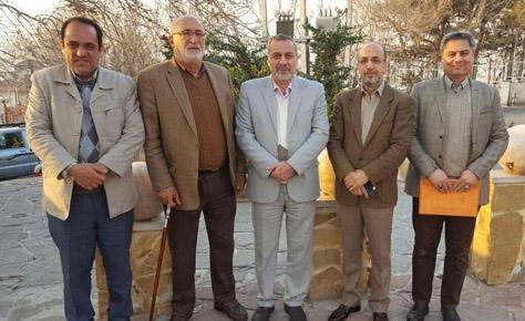 جلسه هم اندیشی رئیس و دبیر هیئت تهران با رؤسای حوزه ها برگزار شد