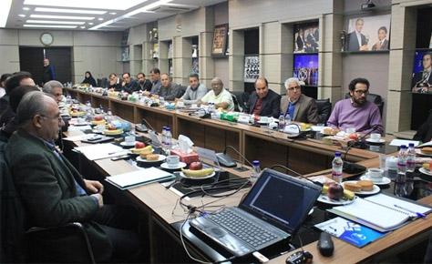 نشست روسای کمیته جوانان و استعدادیابی استانها با مسئولین فدر...