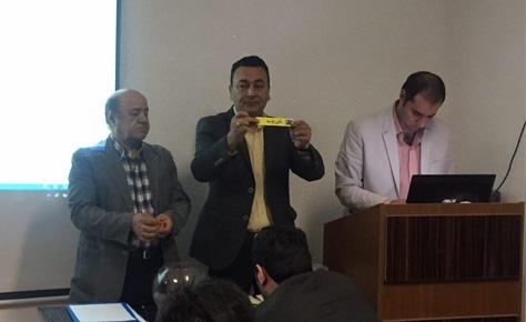 قرعه کشی لیگ برتر استان تهران برگزار شد
