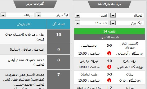 مژده به علاقه مندان فوتبال: معرفی قابلیت جدید سایت هیات فوتبال
