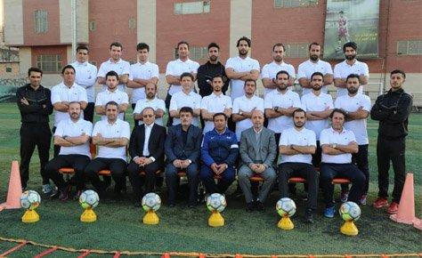 اختتاميه كلاس مربيگري بدنسازي فوتبال برگزار شد