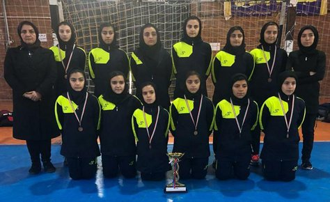 بانوان تهران تیم سوم المپیاد کشور شدند