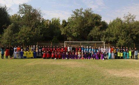 استعدادیابی نوجوانان فوتبال بانوان برگزار شد