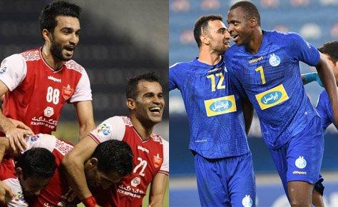 تبریک هیات فوتبال به مناسبت صعود پرسپولیس و استقلال