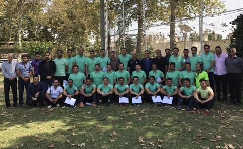 اختتامیه ستاره های سابق فوتبال ایران به پایان رسید