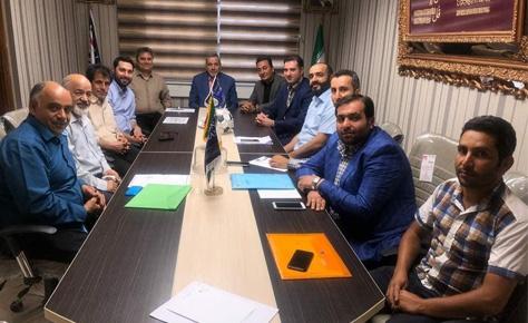 جلسه کمیته فنی هیات فوتبال برگزار شد