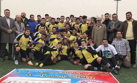 داماش پارسه قهرمان لیگ برتر بزرگسالان تهران شد