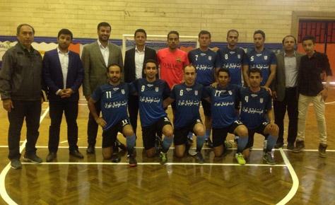 تیم هیئت فوتبال با پیروزی جام تدبیر را شروع کرد