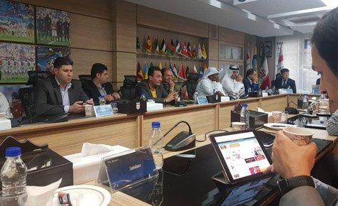 جلسه هماهنگی دیدار استقلال - الدحیل برگزار شد