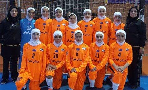 درخشش فوتسال دختران تهران در المپیاد دختران کشور