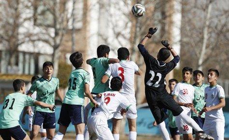 دیدار دوستانه منتخب تهران با تیم ملی زیر 14 سال