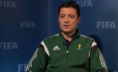 قبولی فغانی در تست بدنی جام جهانی ۲۰۱۸