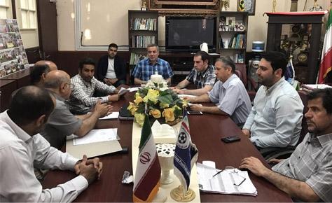 جلسه کمیته فنی هیئت فوتبال برگزار شد