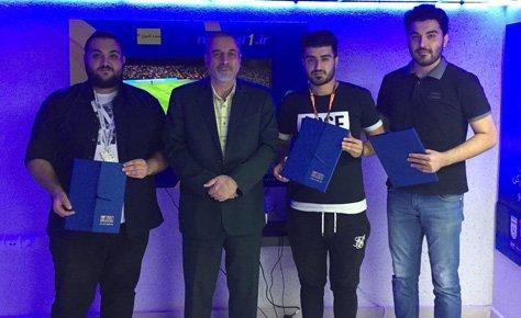قهرمانان اولین دوره بازی های رایانه ای هیات فوتبال مشخص شدند