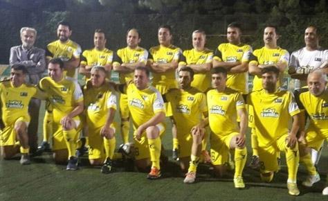 کارمندان هیئت فوتبال سوم جام رمضان شدند