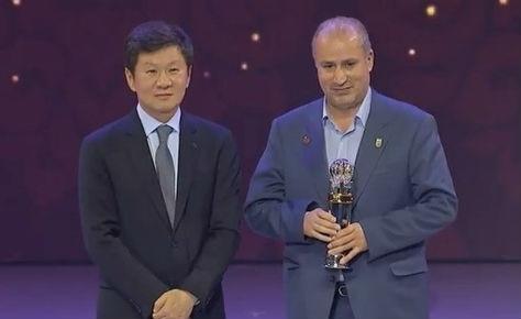 تبریک هیات فوتبال بابت کسب موفقیت فداسیون فوتبال در آسیا