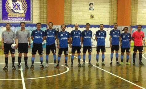 تیم فوتسال هیئت فوتبال در جمع هشت تیم برتر جام تدبیر