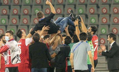 پیام تبریک هیات فوتبال به مناسبت صعود پرسپولیس به فینال آسیا