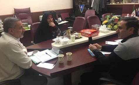 جلسه هیئت رئیسه هیئت فوتبال برگزار شد