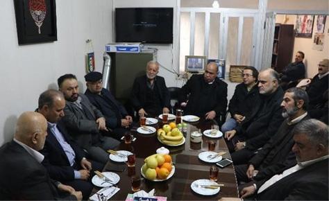 برگزاری نخستین جلسه هیات امنای جامعه اسلامی فوتبال با حضور تاج