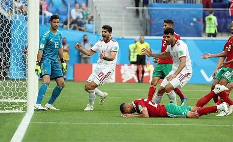 عیدی ملی پوشان ایران با پیروزی شیرین برابر مراکش در آخرین لح...