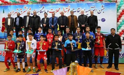 اختتاميه مسابقات فوتبال محلات و باشگاه هاي شمالشرق برگزار شد