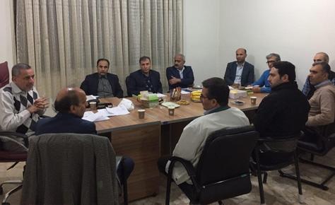 جلسه مشترک کمیته پزشکی و کمیته انضباطی هیئت فوتبال