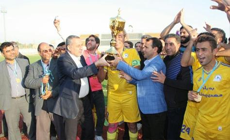 دهیاری حسن آباد قهرمان لیگ برتر بزرگسالان توابع شد