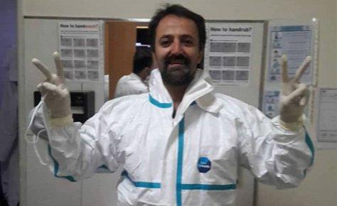 آرزوی سلامتی برای دکتر مطلبی داور پیشکسوت تهران