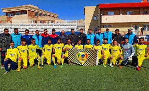 پیام تبریک هیات فوتبال به تیم نفت ایرانیان جهت صعود به مرحله نهایی لیگ دسته سوم