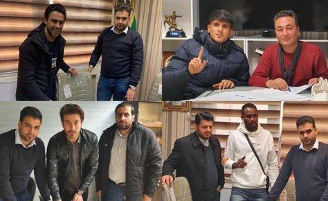 ثبت قراردادهای تیم های تهران در نیم فصل لیگ برتر کشور