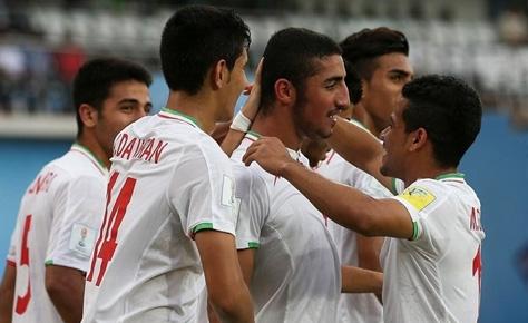 صعود نوجوانان ایران به جمع ۸ تیم برتر دنیا