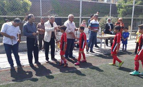 اختتامیه لیگ نونهالان شهرستان شهریار برگزار شد