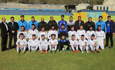 تبریک هیات فوتبال به قهرمان لیگ برتر امید