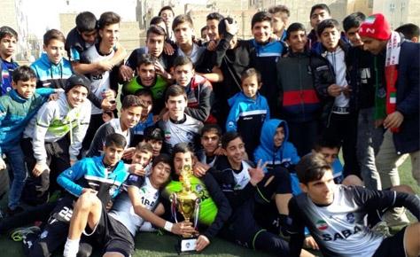 تبریک هیات فوتبال به تیم صبا قهرمان لیگ دسته اول نوجوانان