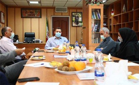 جلسه هیات رئیسه سازمان لیگ با حضور عزیزی خادم برگزار شد