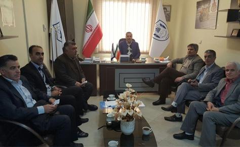جلسه دکتر شیرازی و عابدینی با رؤسای شهرستان های شرق تهران