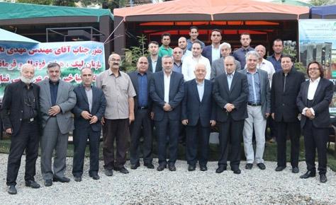حضور رئیس فدراسیون و رئیس هیئت فوتبال در جلسه جمعیت حامیان هواداران فوتبال