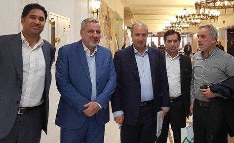 رئیس فدراسیون از دکتر شیرازی تقدیر کرد