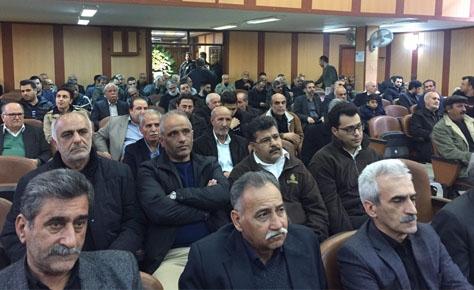 مراسم ترحيم حاج حسن صادقی برگزار شد