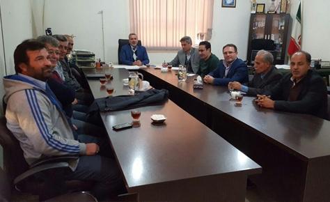 جلسه دکتر شیرازی و عابدینی با رؤسای شهرستان های جنوب تهران