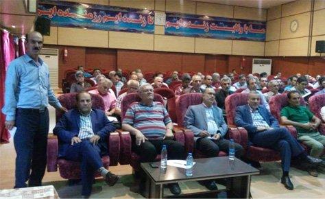 جلسه هماهنگی ناظران مسابقات فصل 98 برگزار شد