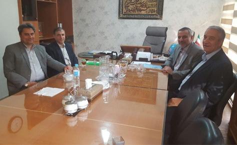 دیدار دکتر شیرازی و علی کفاشیان پیرامون فوتسال تهران