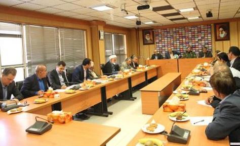 جلسه هم اندیشی برگزاری هفته های پایانی لیگ برتر برگزار شد