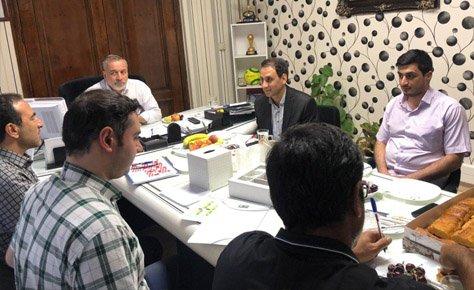جلسه هماهنگی پخش زنده مسابقات فصل 98 برگزار شد
