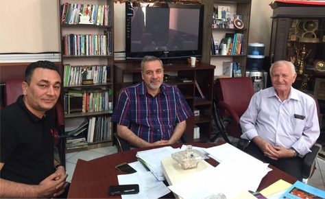دیدار دکتر شیرازی با یکی از قدیمی ترین مربیان تهران